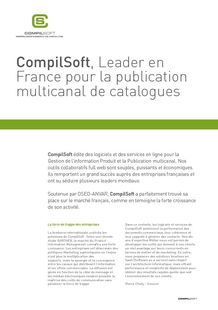 overall presentation of CompilSoftr - COMPILSOFT - GESTION DES DONNÉES MARKETING ET PUBLICATION MULTICANAL