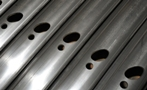 Custom Roll Formed Profiles: 3D Laser Cutting