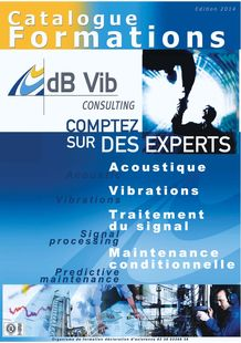 Training - DBVIB GROUPE