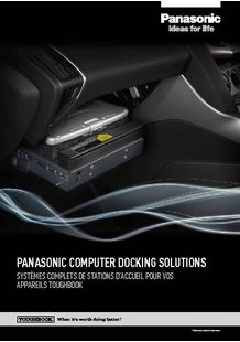 Complete Docking Integration Systems for Toughbook - PANASONIC TOUGHBOOK
