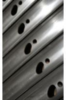 Custom Roll Formed Profiles: 3D Laser Cutting - SADEF