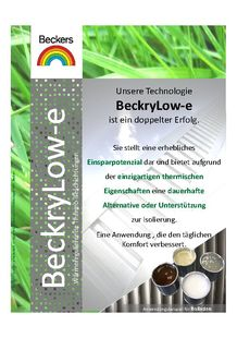 BeckryLow-e - BECKERS