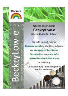 BeckryLow-e - BECKERS