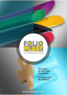 PLASTIC TUBES AND PROFILES EXTRUSIONS - FOLIOPLAST