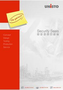 UNISTO LEAFLET SECURITY SEALS - UNISTO