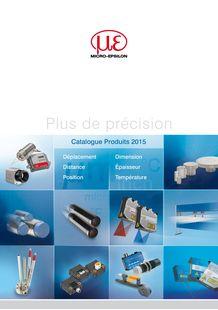Micro-Epsilon Products -