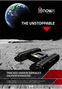 Tracked undercarriages brochure