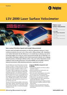 LSV-2000 Polytec - POLYTEC FRANCE
