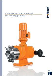 Motor Driven Pumps - Process Pumps 2015 - ProMinent France S.A.S