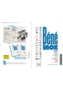 All our range of products - BENE INOX