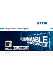 Laboratory Power Supply Brochure - TDK-LAMBDA FRANCE SAS