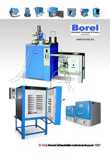 Furnaces and ovens - BOREL FOURS INDUSTRIELS & ETUVES