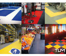 Non-slip PVC slabs for industrial flooring - TRAFICLINE STA