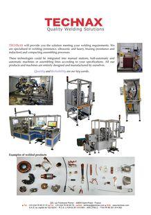 Metal Welding Machines - TECHNAX