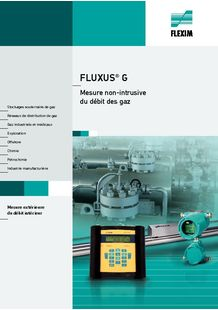 Ultrasonic Flowmeters for Gases - FLEXIM