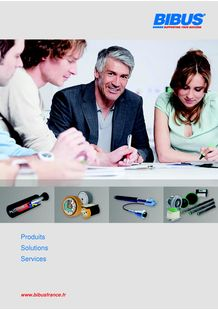 BIBUS France - General Brochure (2013) - BIBUS FRANCE