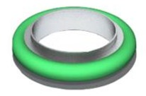 ISO160 backing Co-Seal nitrile