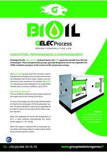 Gelec BiOil groups (végétal oil) - GELEC