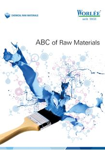 Worlée_ABC of Raw Materials_EN