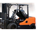 LPG forklift - Pro 5 series - 4.5 to 5.5 t