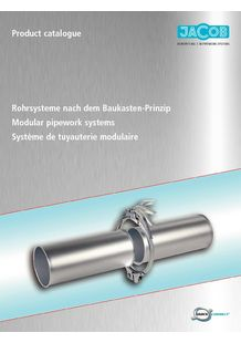 Modular pipework systems - JACOB DOSATEC