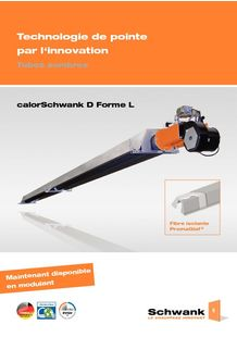 Radiant tube heater - Innovative and Economical - SCHWANK