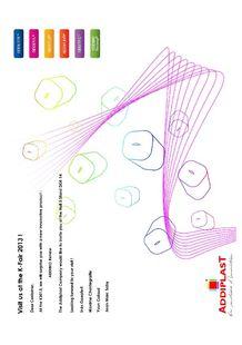 Addiplast at K SHOW 2013 ! - ADDIPLAST COMPOUND ET LABORATOIRE DE RECHERCHE