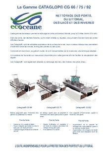 Sea protection vessels ECOCEANE - ECOCEANE