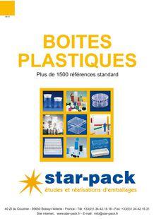 Plastic boxes - STAR PACK SA