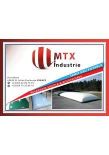 FLEXIBLE TANK  : DRINKING WATER - MTX Industrie