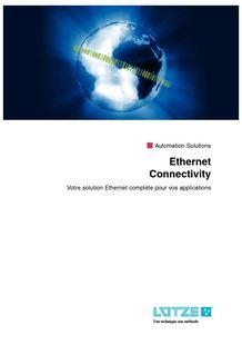 Ethernet solutions - LÜTZE