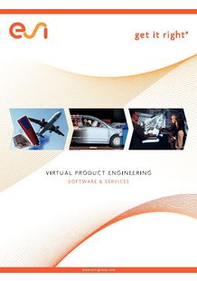Corporate brochure - ESI GROUP