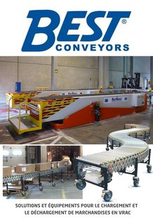 Telescopic belt conveyors and mobile gravity and powered expandable, flexible conveyors. - UVO TECHNOLOGIES