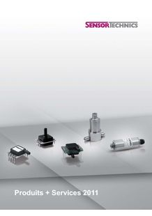 Products & Services - SENSORTECHNICS C/O FIRST SENSOR AG