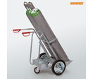 Gas bottle cart for 250 mm bottles